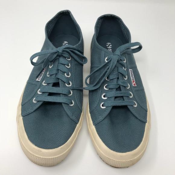 67bd04c615569 Superga Shoes | Mens Classic Canvas Sneaker Smokey Blue | Poshmark